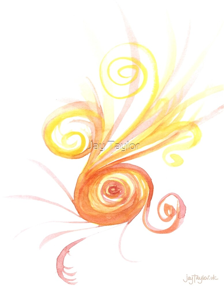 Watercolour Spiral by Jay Taylor