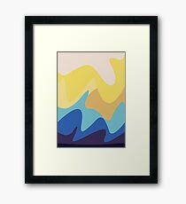 Colourful Patterns Framed Print