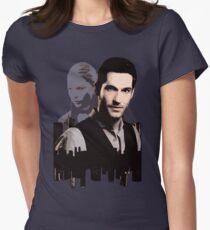 Lucifer Morningstar Women's Fitted T-Shirt