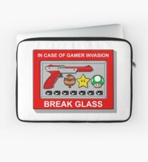 In case of Gamer Invasion Laptop Sleeve