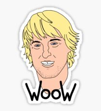 Owen Wilson wow meme Sticker
