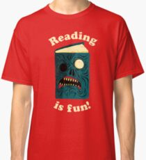 Reading is Fun Classic T-Shirt