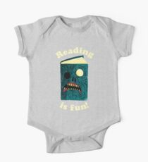 Reading is Fun One Piece - Short Sleeve