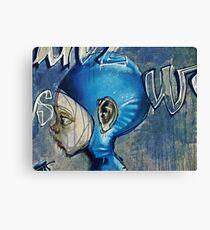 Feeling blue? Canvas Print