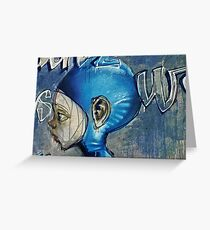 Feeling blue? Greeting Card