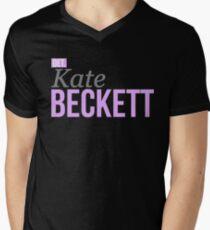 Detective Kate Beckett Men's V-Neck T-Shirt