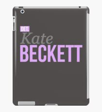 Detective Kate Beckett iPad Case/Skin