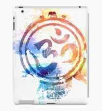buntes Ohm-Elefantlogo iPad-Hülle & Skin
