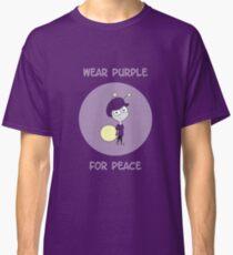 Wear Purple For Peace 2016 Classic T-Shirt