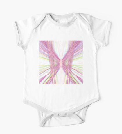 Linify Pink butterfly Kids Clothes