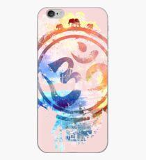 colorful ohm elephant logo iPhone Case