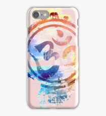 colorful ohm elephant logo iPhone Case/Skin