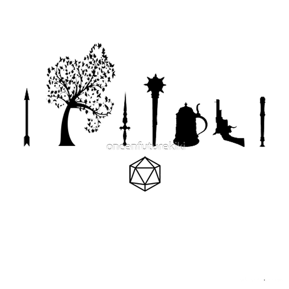 Critical Role - Character Symbols by oncenfuturekiki