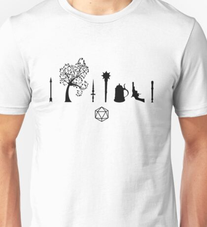 Critical Role - Character Symbols Unisex T-Shirt