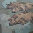 Sleeping Pigs by stevemitchell