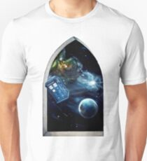 Whovian window :)  T-Shirt