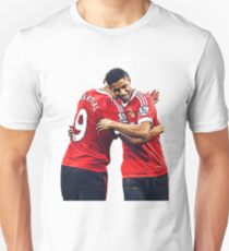 Anthony Martial & Marcus Rashford Manchester United Crop Unisex T-Shirt