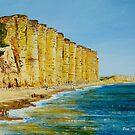 A walk on West Bay, Dorset. by Joe Trodden