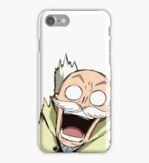 Fairy Tail - Master Makarov iPhone Case/Skin