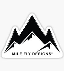 Mile Fly Designs Sticker