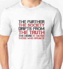 George Orwell Quote Free Speech Truth Political Unisex T-Shirt