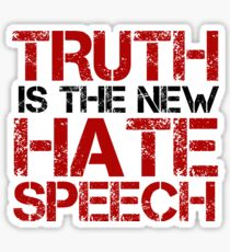 Truth Free Speech Political Offensive Liberty Freedom Sticker