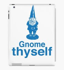 Gnome Thyself iPad Case/Skin