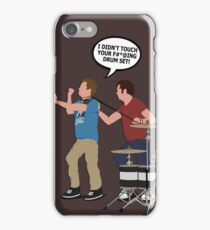 STEP BROTHERS DRUM SET iPhone Case/Skin