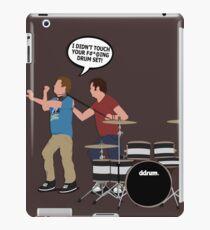 STEP BROTHERS DRUM SET iPad Case/Skin