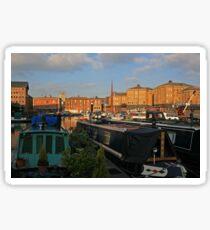 Gloucester Skyline Sticker