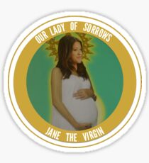 JANE THE COIN Sticker