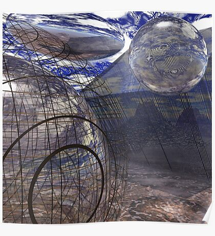 Alien Landscape #2 Poster