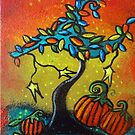 Autumn Celebration III, Panel 3 by Juli Cady Ryan