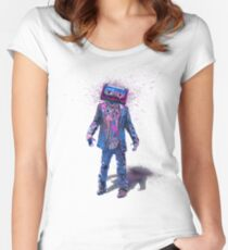 The Walking Tapes Women's Fitted Scoop T-Shirt