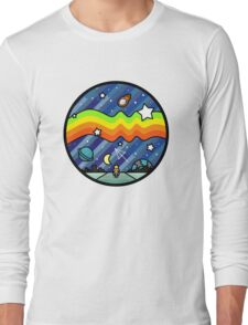 Biker in the universe Long Sleeve T-Shirt
