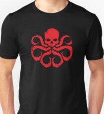 HYDRA Badge - Red Unisex T-Shirt