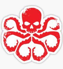 HYDRA Badge - Red Sticker