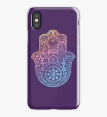 Rainbow Hamsa iPhone Case/Skin