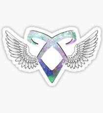 Shadowhunters angelic rune - light Sticker