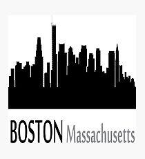 Boston Massachusetts Photographic Print