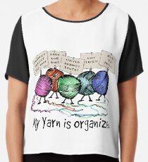 Yarn: Organized! Chiffon Top
