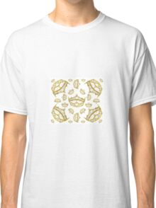 Queen of Hearts gold crown tiara tossed about by Kristie Hubler Classic T-Shirt