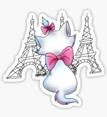 Paris On My Mind Sticker