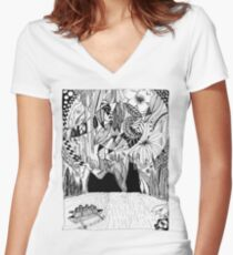 Underground River Women's Fitted V-Neck T-Shirt