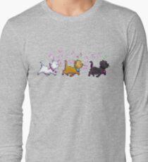 Kitten Trio Long Sleeve T-Shirt