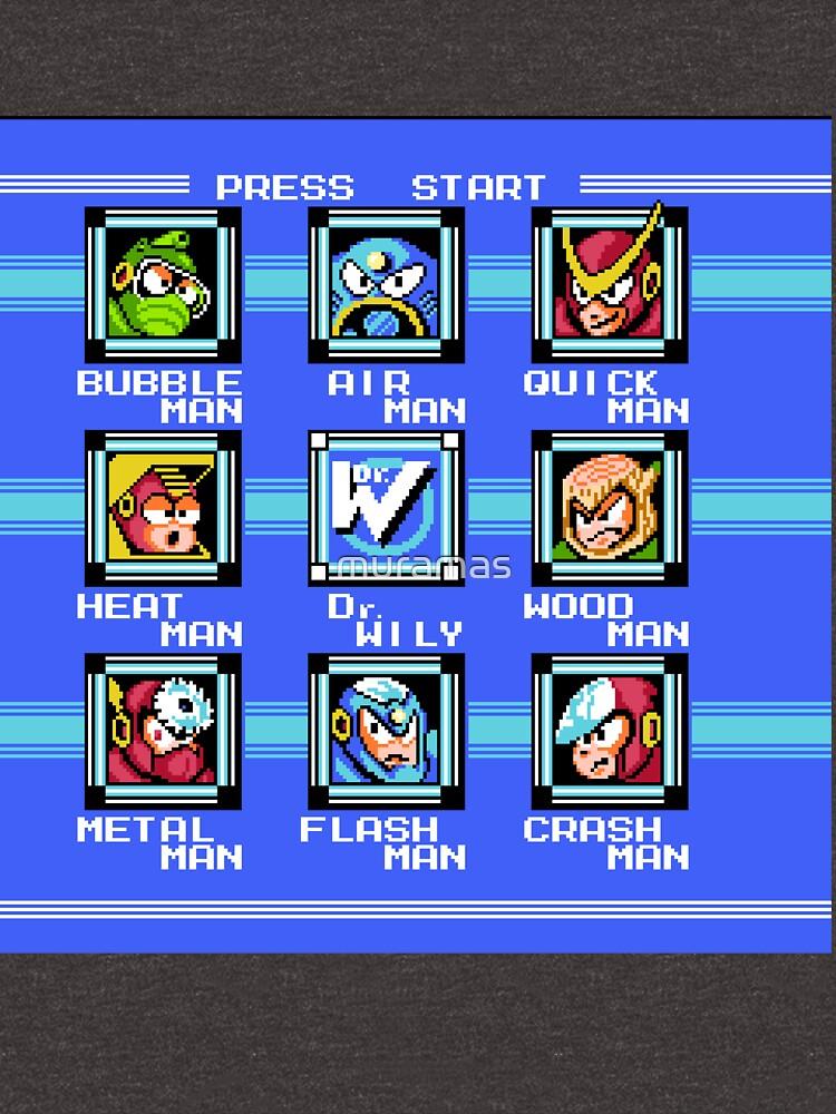 Mega Man 2 - Selección de escenario de muramas