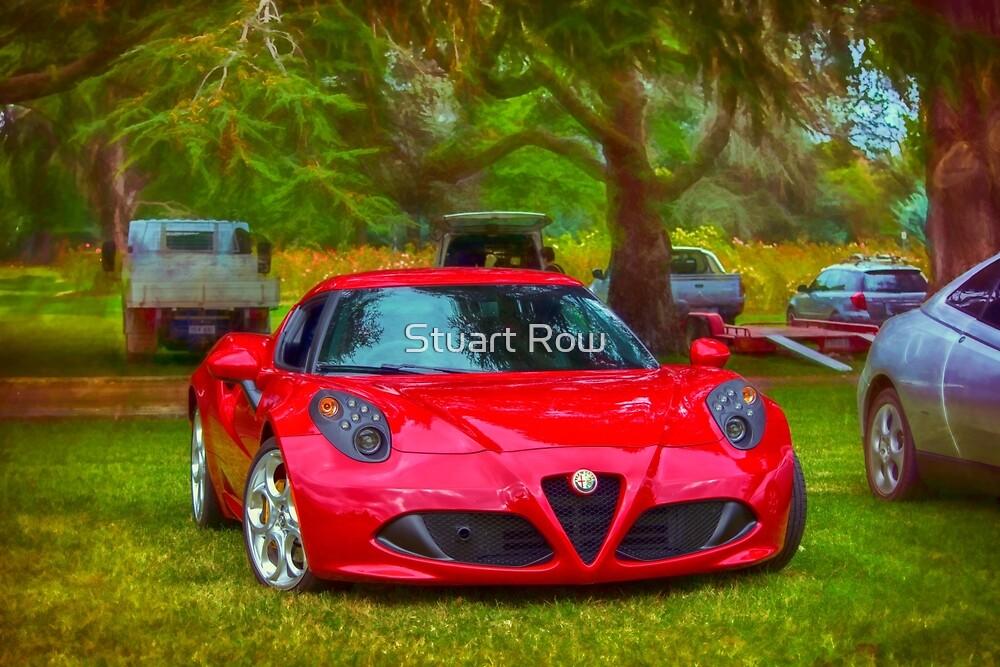 Alfa Romeo 4C by Stuart Row