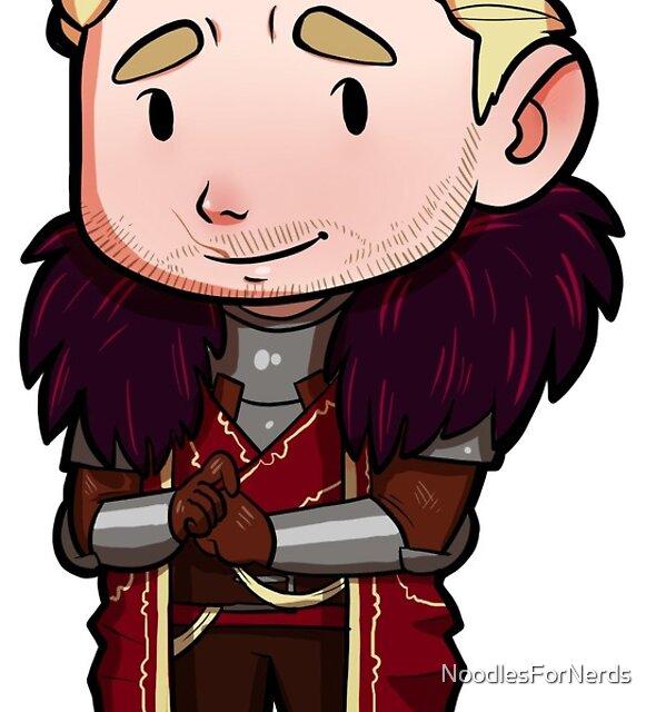 Dragon Age -- Cullen Chibi by NoodlesForNerds