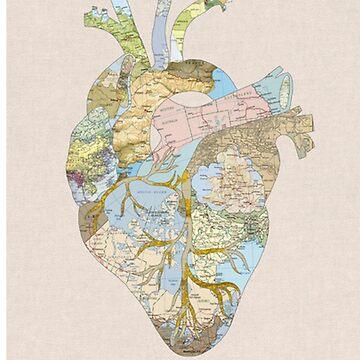 corazón del viajero de AUDREYHELLADOPE