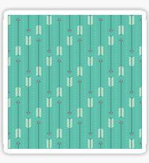 Arrows_Turquoise Sticker